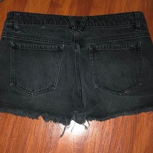 Volcom Shorts - Volcom Black Denim Shorts